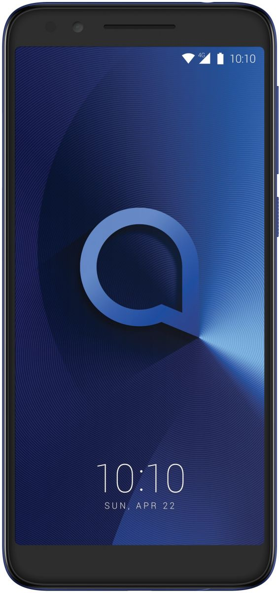 Alcatel 3L Dual SIM - 16GB, 2GB RAM, 4G LTE, Metallic Blue