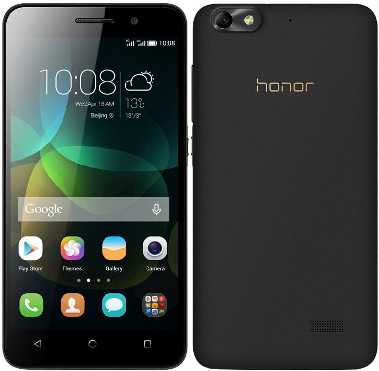 Huawei Honor 4C Dual SIM - 8GB, 2GB RAM, 3G, WiFi, Black