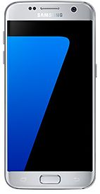 Samsung Galaxy S7 - 32 GB, 4 GB Ram, 4G LTE, Silver, Single Sim