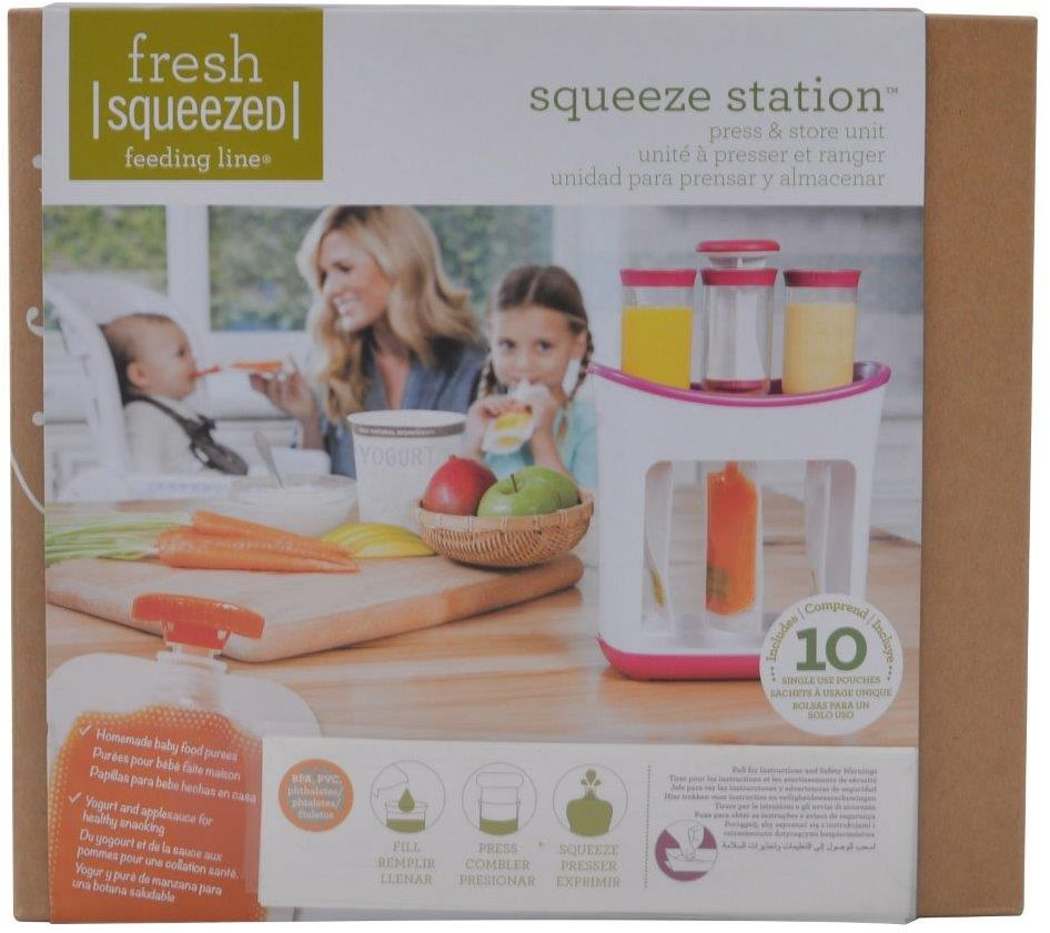 Fresh Squeezed Feeding Line Squeeze Station