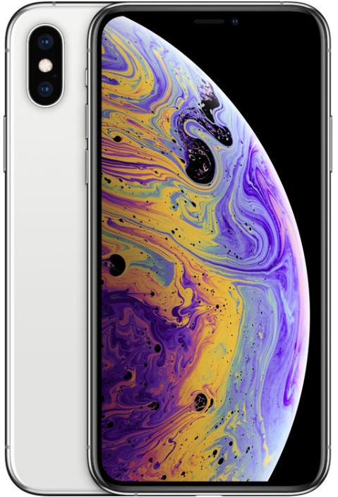 Apple Iphone XS Max With Facetime - 512 GB, 4G LTE, Silver, 4 GB Ram, Single Sim & E-Sim
