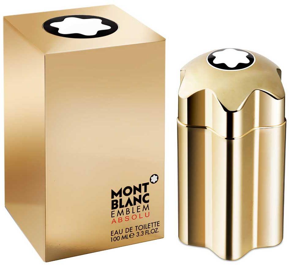 Emblem Absolu by Mont Blanc for Men - Eau de Toilette, 100ml
