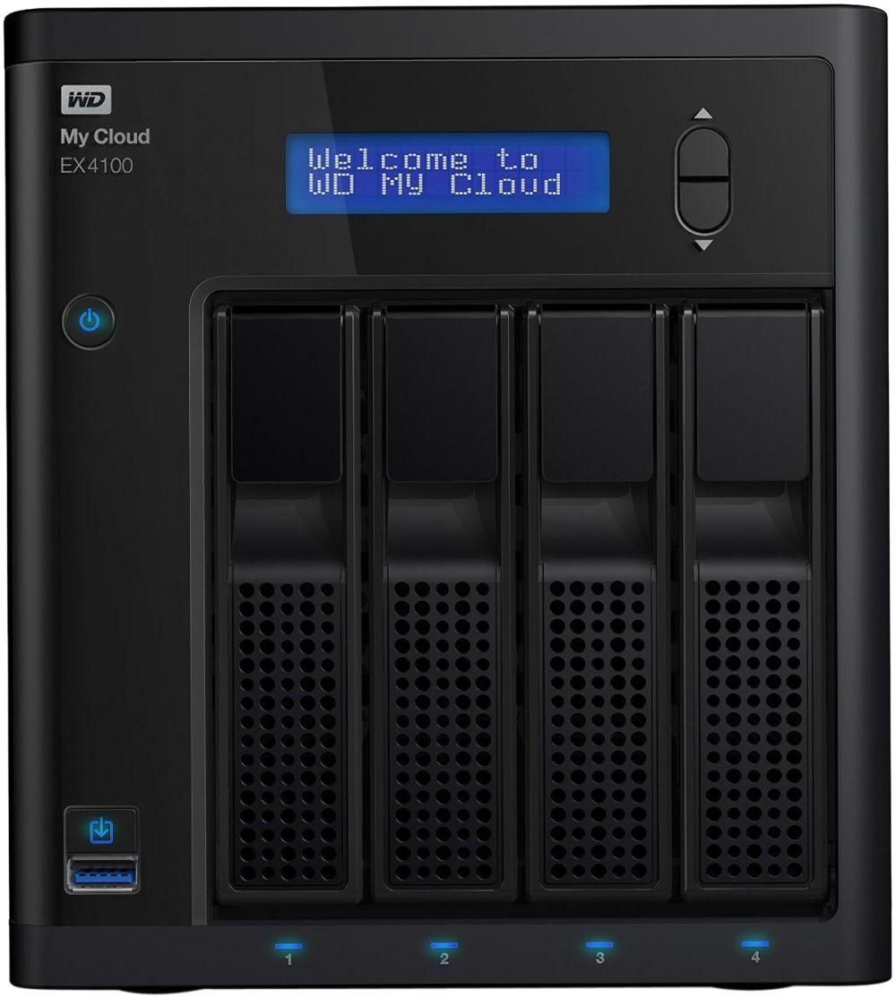 WD 32TB My Cloud EX4100 Expert Series 4-Bay Network Attached Storage - NAS - WDBWZE0320KBK