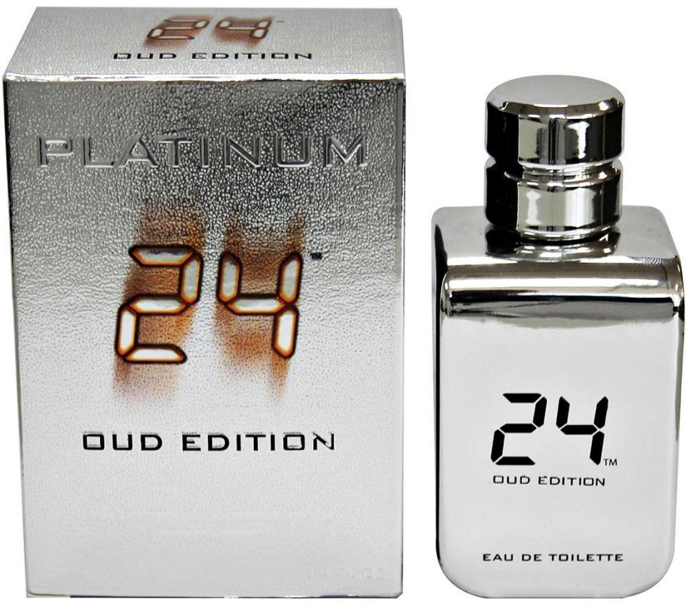 24 Platinum Oud Edition by ScentStory for Men and Women - Eau de Toilette, 50ml
