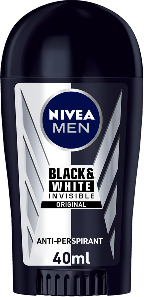 Nivea Black & White Deodorant Stick for Men 40ml