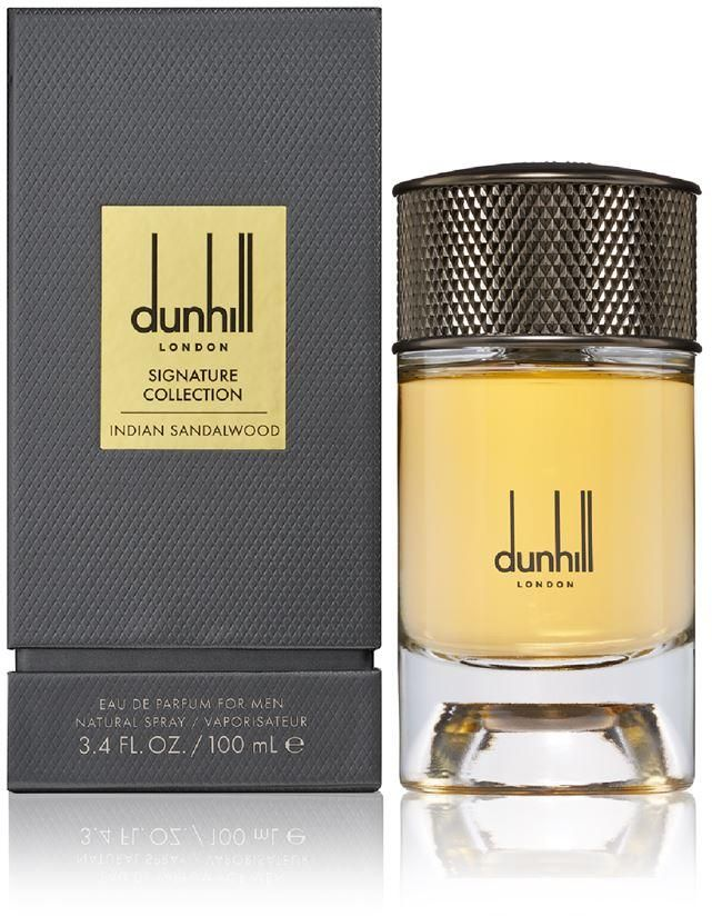 dunhill signature collection indian sandal wood eud parfeum 100 ml
