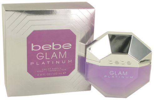 Glam Platinum by Bebe for Women - Eau de Parfum, 100ml