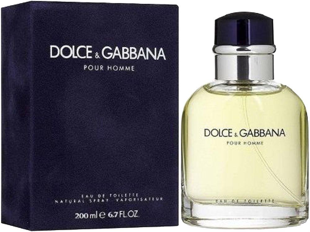 Pour Homme by Dolce & Gabbana for Men - Eau de Toilette, 200 ml