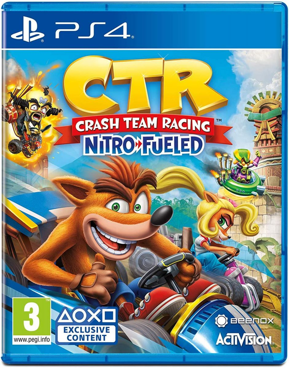C T R CRASH PlayStation 4 by Activision