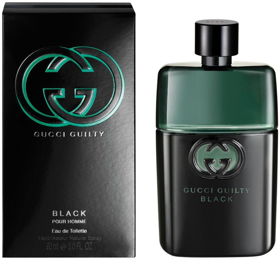 Gucci Guilty Black Pour Homme by Gucci for Men - Eau de Toilette, 90ml