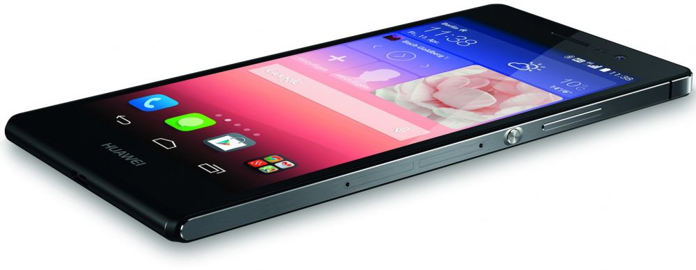 Huawei Ascend P7 (16GB, Android OS, 4G LTE + Wifi, Black)