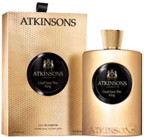Oud Save The King by Atkinsons for Unisex - Eau de Parfum, 100ml