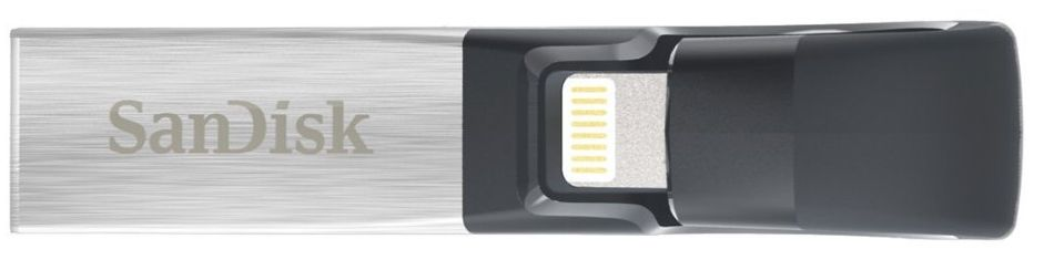 SanDisk iXpand Flash Drive for iPhone and iPad 128GB - SDIX30C-128G-GN6NE