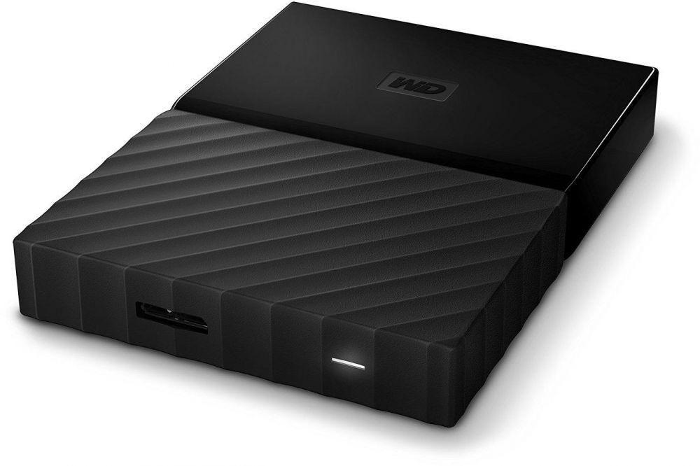 Western Digital 2TB My Passport Portable External Hard Drive USB 3.0 - Black, WDBYFT0020BBL