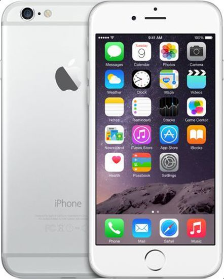 Apple iPhone 6 with FaceTime - 64GB, 4G LTE, Silver