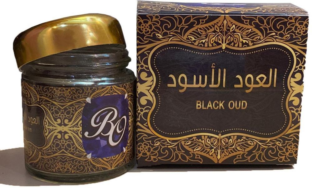 Black Oud from Al Ghawali for Oud - Oud sandal watered rough - free of chemicals added first class