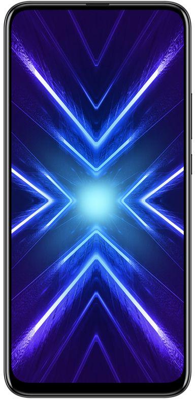 Honor 9X Dual SIM - 128GB, 6GB RAM, 4G LTE, Midnight Black
