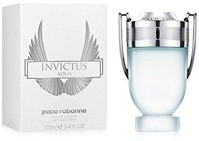 Invictus Aqua by Paco Rabanne for Men - Eau de Toilette, 100 ml
