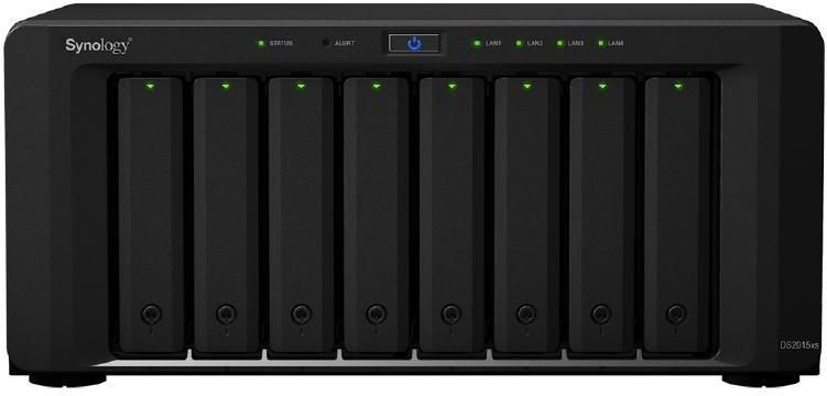 Synology Diskstation DS2015xs Series NAS - 8 Bays - Quad Core 1.7Ghz CPU - 4GB