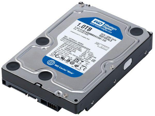 Western Digital 1TB Internal Sata HDD For Desktop 32 MB Cache Blue Colour