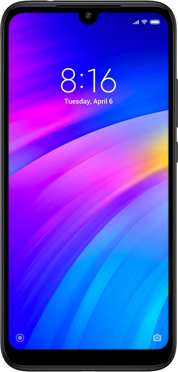 Xiaomi Redmi 7 Dual Sim - 16 GB, 2 GB Ram, 4G LTE, Black 'International Version