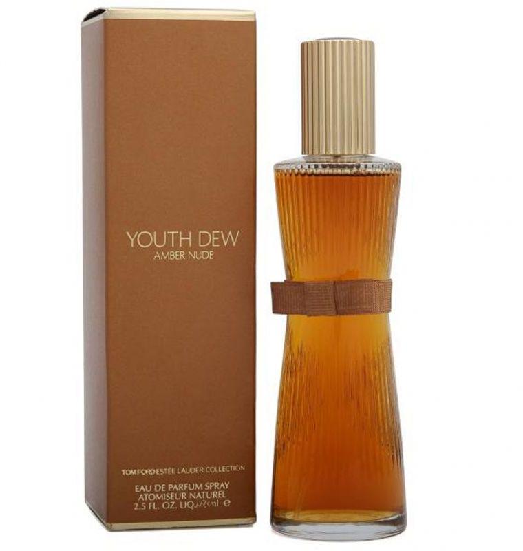 Youth Dew Amber Nude by Estee Lauder for Women - Eau de Parfum, 75 ml