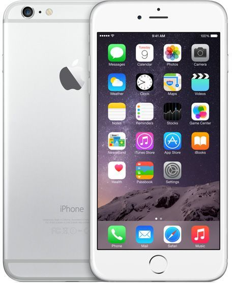 Apple iPhone 6 Plus With FaceTime - 64GB, 1GB, 4G LTE, Silver
