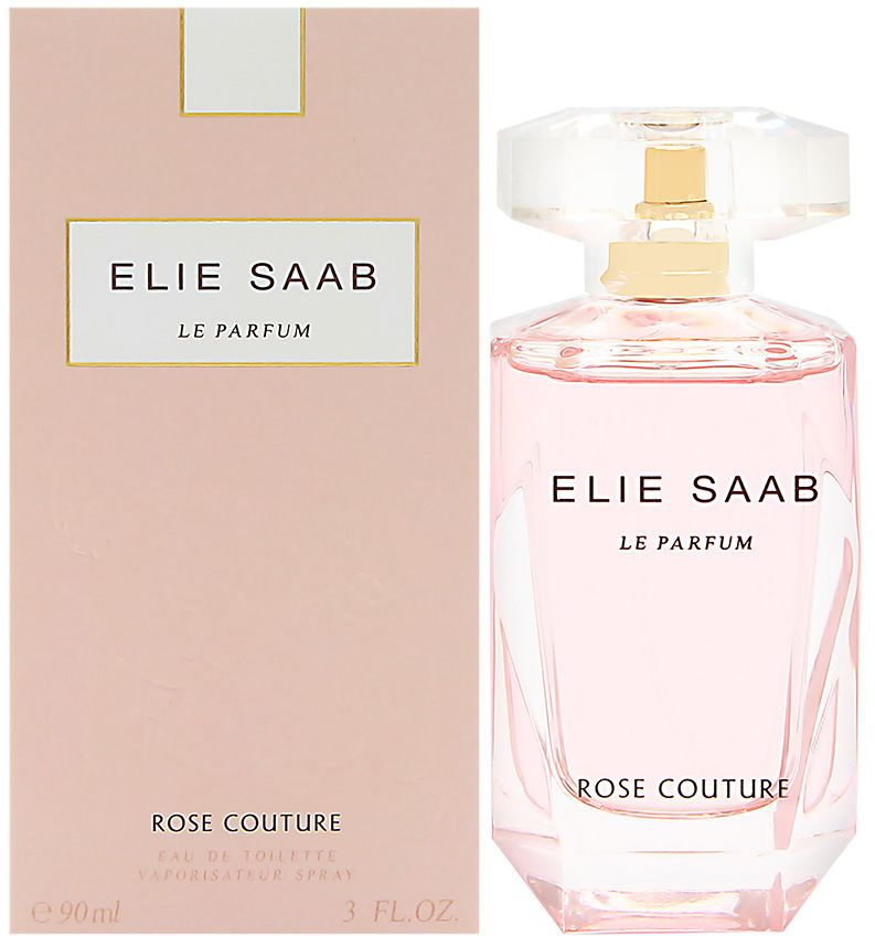 Elie Saab Le Parfum Rose Couture For Women- Eau de Toilette, 90ml