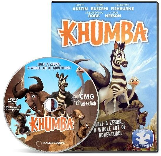 Khumba (2013), DVD Movie, Language: English with Arabic Subtitle.
