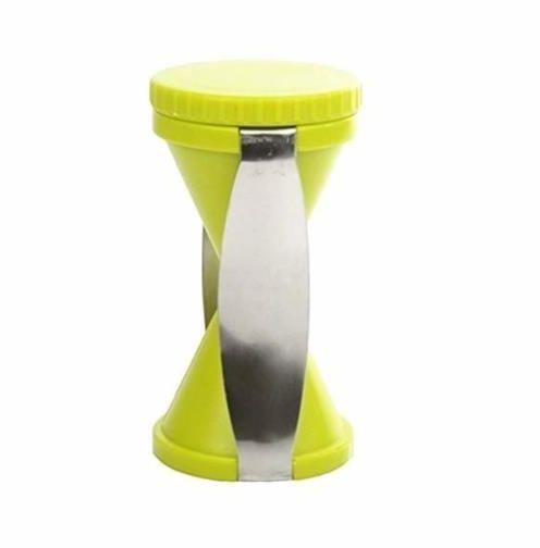 Spiral Slicer Kitchen Gadget Funnel Cutter Cooking Tool Kitchen Accessories-Green