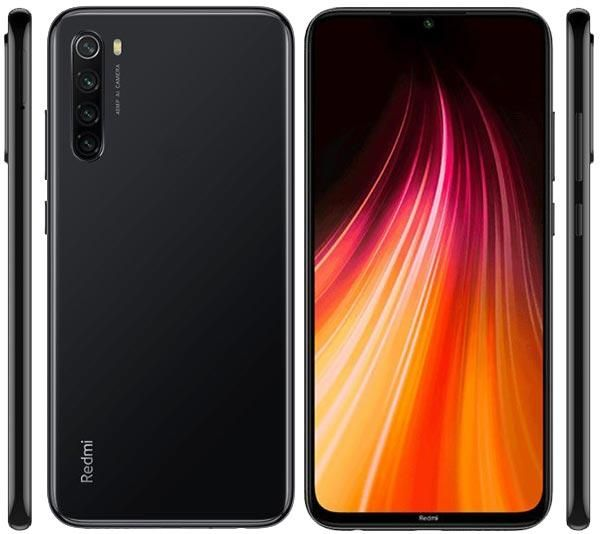 Xiaomi Redmi Note 8 Dual SIM - 64GB, 4GB RAM, 4G LTE, Space Black